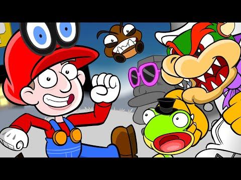 Super Mario Odyssey Animation ZackScottGames Animated