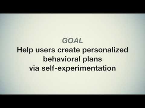 Self-Experimentation for Behavior Change
