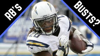 2017 Fantasy Football - Top 5 Potential RB Busts
