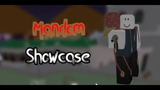 Mandom showcase | Project jojo |Roblox