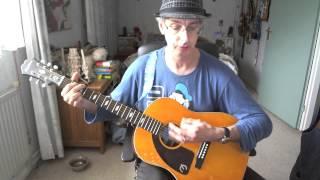 Guitar lesson 047G-No Milk Today