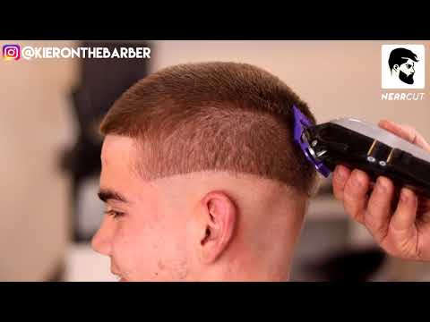 5 STEPS FOR A SMOOTH BUZZ CUT SKIN FADE || MENS HOW TO HAIR TUTORIAL .
