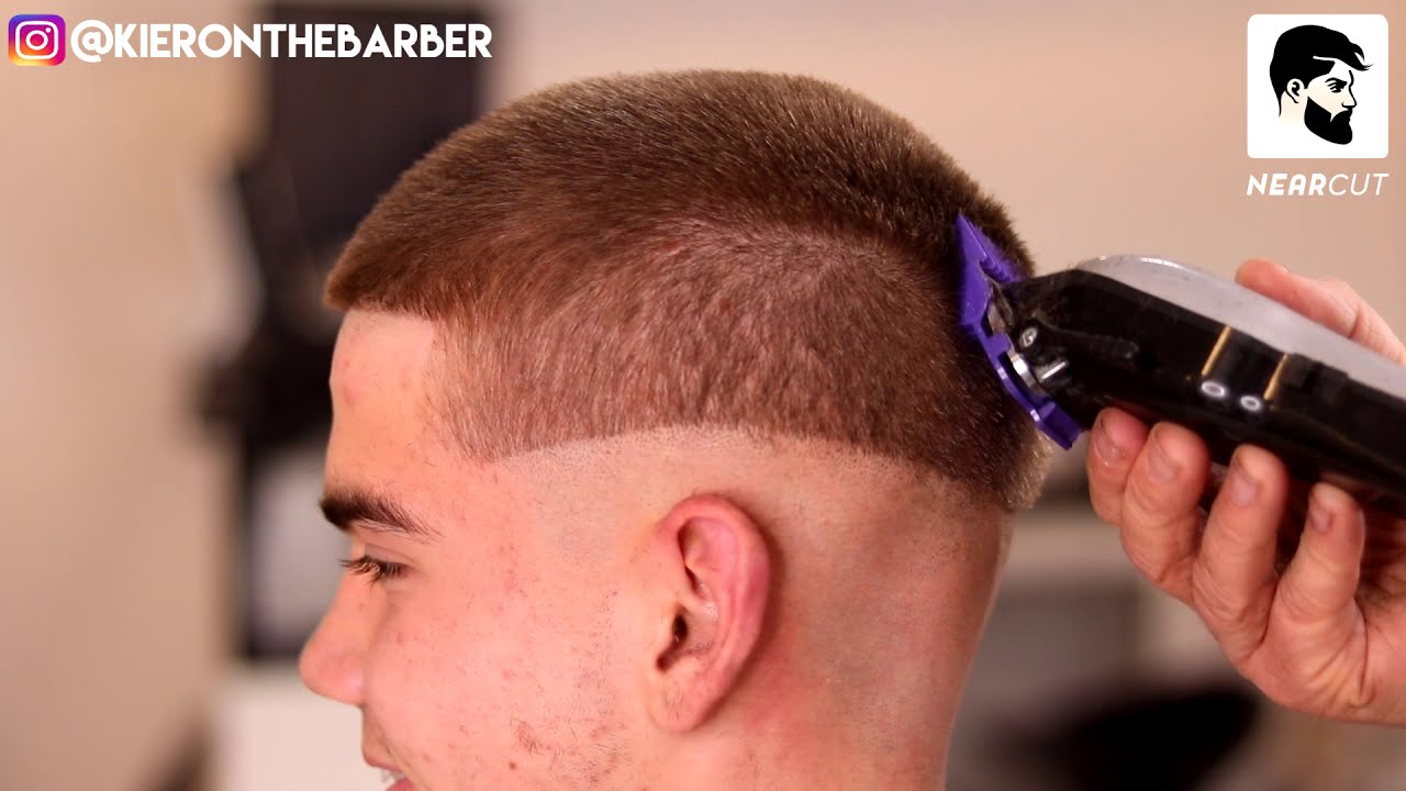 5 Steps For A Smooth Buzz Cut Skin Fade Mens How To