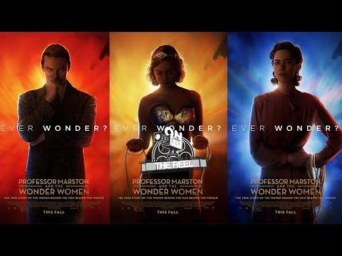 Professor Marston and the Wonder Women Trailer Reaction