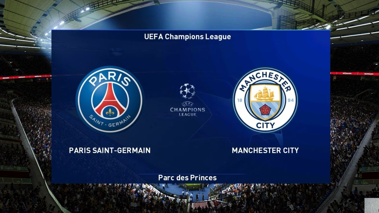 PES 2021 | PSG Vs MANCHESTER CITY | UEFA Champions League 2021 | Gameplay  PC - YouTube