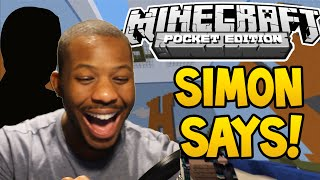 SIMON SAYS! - MiniGame (Minecraft Pocket Edition 0.13.0)