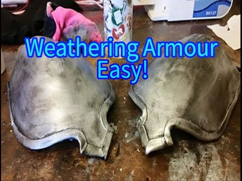 Cosplay Tutorial - Weathering Armour