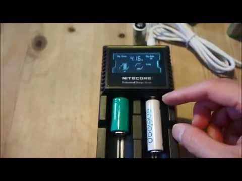 nitecore-digicharger-d2---technical-information-and-demonstration
