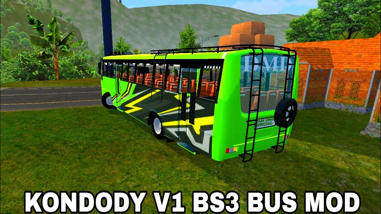 Download Kondody V1 Bs3 Bus Mod By Team Dmd For Bus Simulator Indonesia Bussid V3 4 3 Youtube