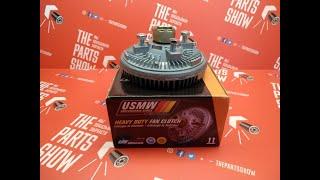 Вискомуфта вентилятора Hummer H3 3.5/3.7L. Для чего она нужна?