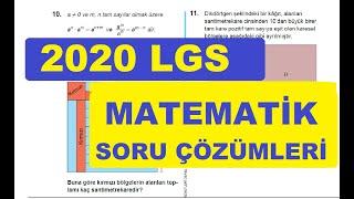 LGS 2020 Matematik Soruları Ve Çözümleri