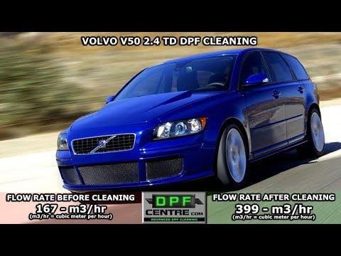Volvo V50 2.4 TD DPF Cleaning