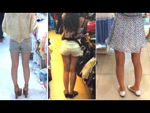Girl Legs: Korea vs Japan vs China