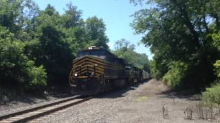 I CAUGHT THE NICKEL PLATE ROAD 8100!!!!