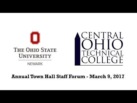 OSU/COTC Annual Town Hall Staff Forum 2017
