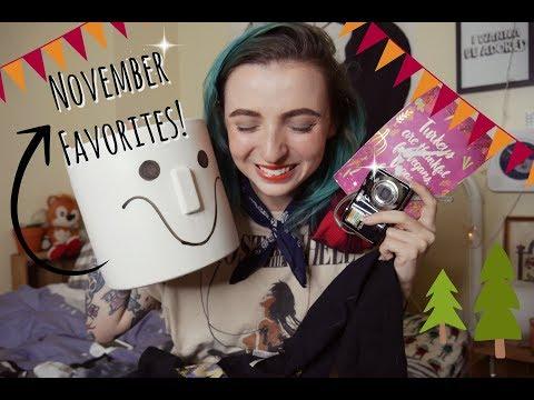 November Favorites: people, places, and thiiiiiings