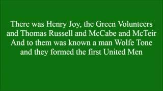 Protestant Men with lyrics