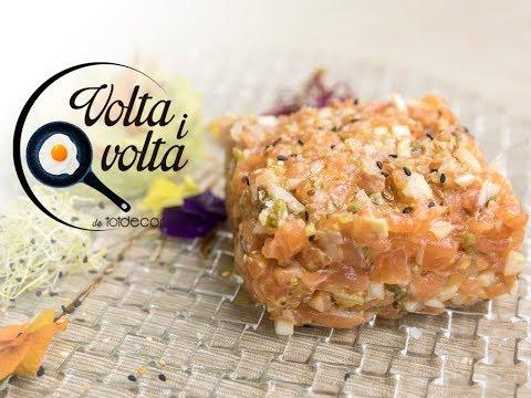 Tàrtar de salmó amb guacamole mexicà per Albert Nualart del restaurant Can Joan