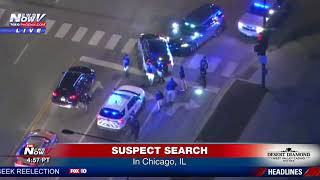 POLICE PURSUIT: Results in foot chase in Chicago, Illinois area (FNN)
