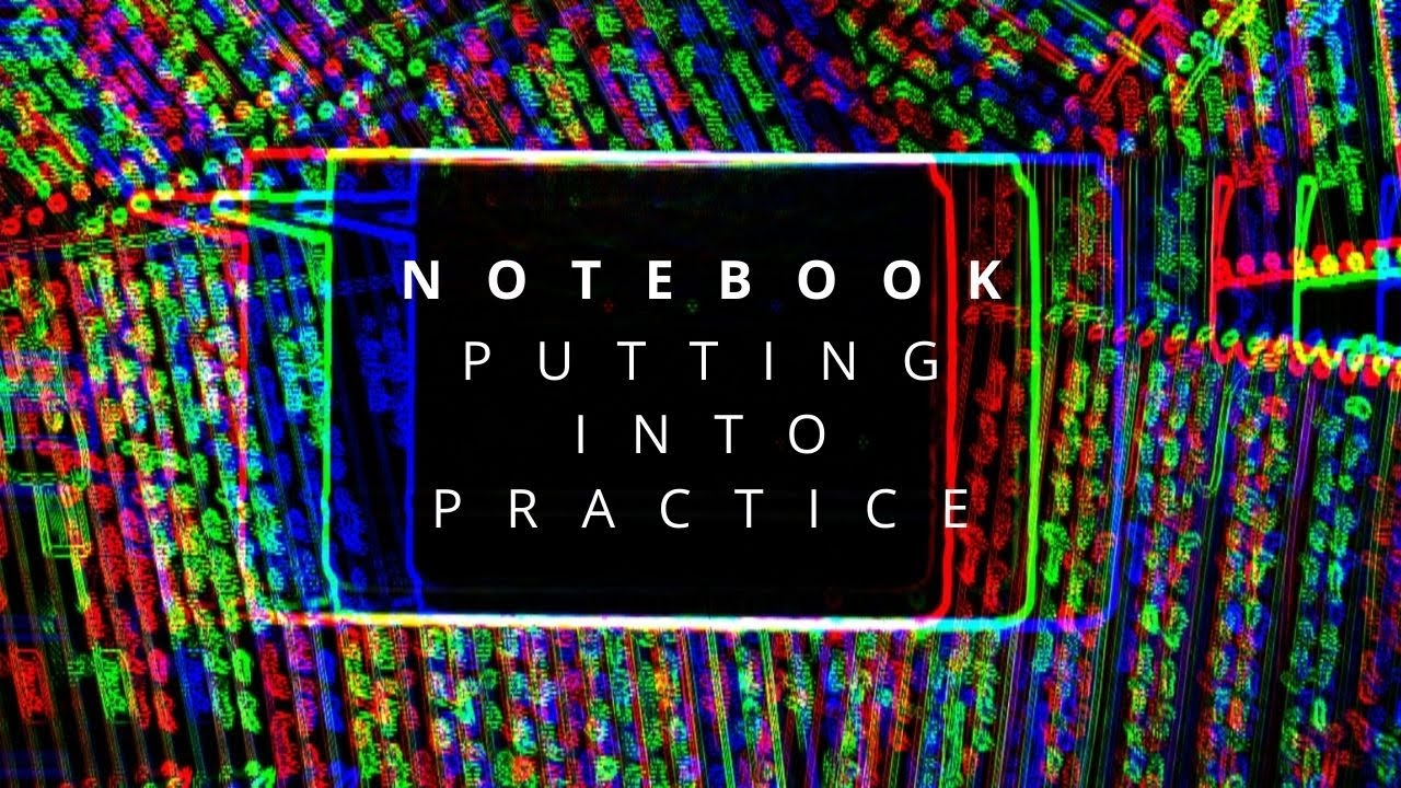 The practice of keeping a notebook