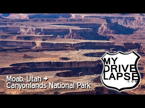 Canyonlands National Park Scenic Drive