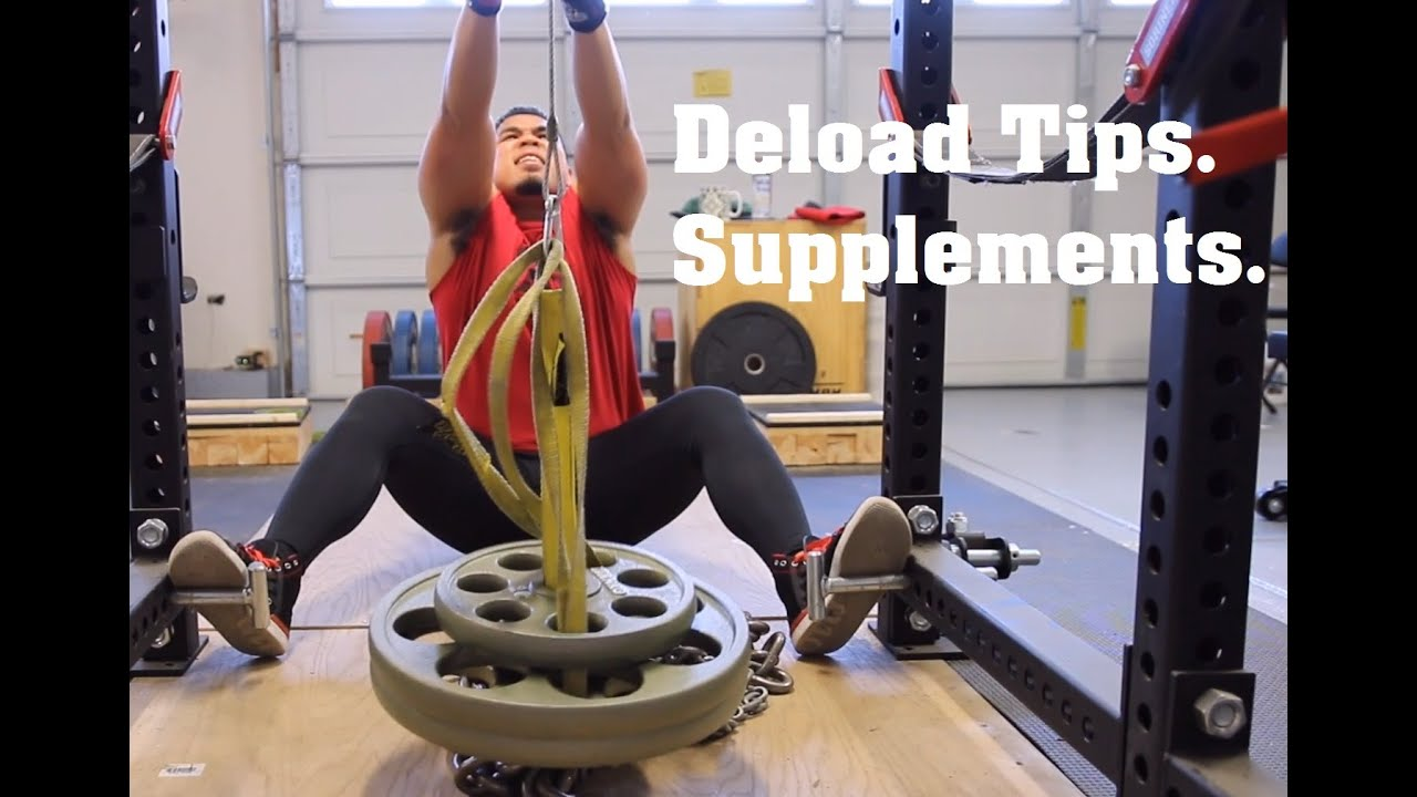 Dynamic effort bench deload and supplement tips youtube