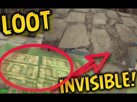 EL MEJOR TRUCO ANTI-RAIDEO!!!! Loot invisible / Ark Survival Evolved Ps4