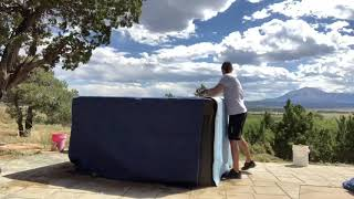 How to move a Hot Tub cheap and easy ?