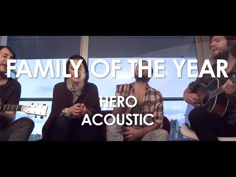 Family Of The Year - Hero - Acoustic [ Live in Paris ]