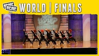 """UNITING THE WORLD OF HIP HOP THROUGH DANCE"" Kana-Boon! - Japan (Adult) @ Hip Hop International's 2014 World Hip Hop Dance Championship, ..."