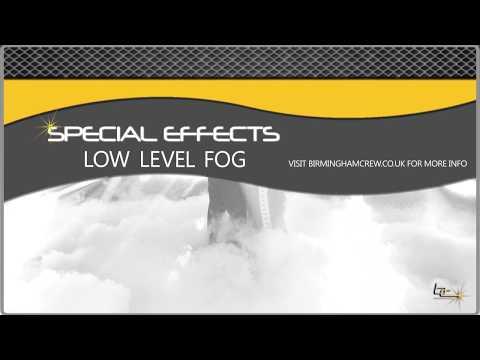 Dry Ice & Low Level Fog Effects - Birmingham Crew DJs & Events