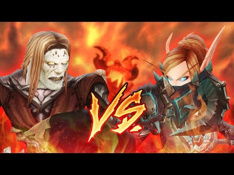 ZUQO vs EVYLYN (Fire Mage v Arms Warrior): Fire Mage PvP Duels [World of Warcraft: Legion 7.3.2 1v1]