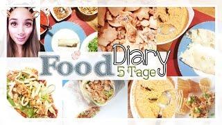 Food Diary - Neue Ernährungsweise - Mein vegetarisches Weihnachten - Volle 5 Tage