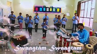 Swaagtam Swaagtam Geet For Everybody || Welcome Song With Action and Lyrics