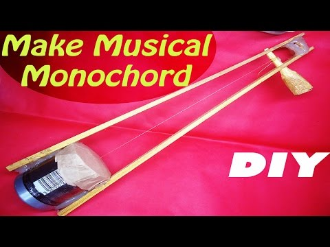 How to make a Monochord | DIY Home Made Monochord | Musical Instrument Project