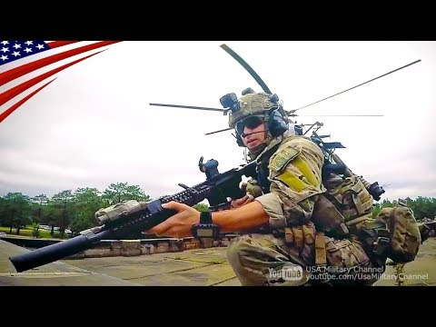 US Army Special Operations Forces In Action - Green Berets, Rangers, Night Stalkers
