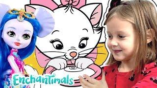 Амелька хочет завести друга- питомца, как у кукол Энчантималс. Какого же питомца она выберет?