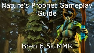 Dota 2 Nature's Prophet Guide: 6.5K MMR - How to WIN & GAIN MMR EASILY