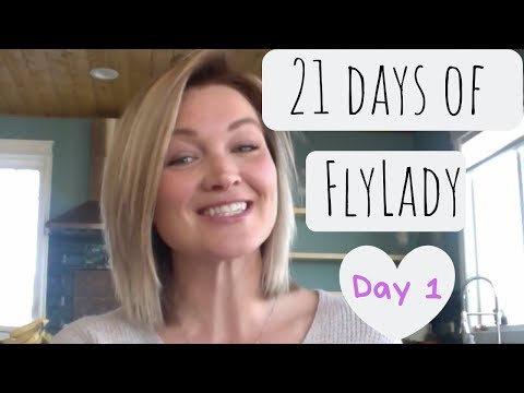 21 Days to a Clean Home | Day 1 | Shine your sink