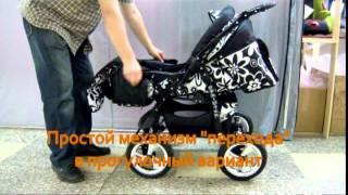 Универсальная коляска JACK-POL SPRINTER(Универсальная коляска трансформер Sprinter http://4baby.by/TRANSFORMERY.html?parent=KOLYASKI., 2012-05-06T13:23:09.000Z)