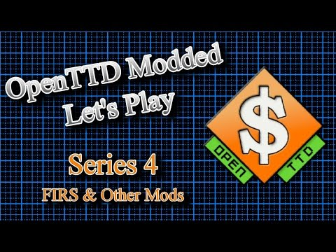 OpenTTD Modded Lets Play S4 E15 - Red Trains