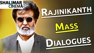 Super Star Rajinikanth Mass Punch Dialogues || Telugu Punch Dialogues