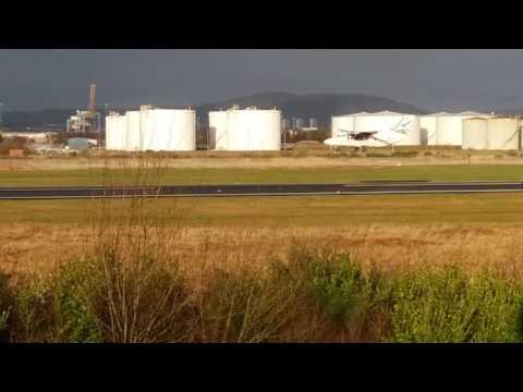 George Best Belfast City Airport plane spotting