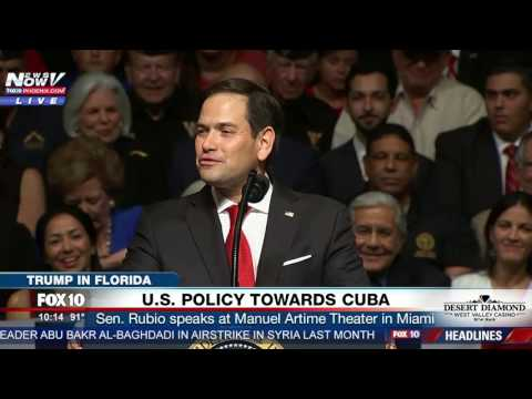 """WATCH: Marco Rubio Talks About """"Honor"""" of Flying on Air Force One - """"Best M&Ms on the Planet!"""""""