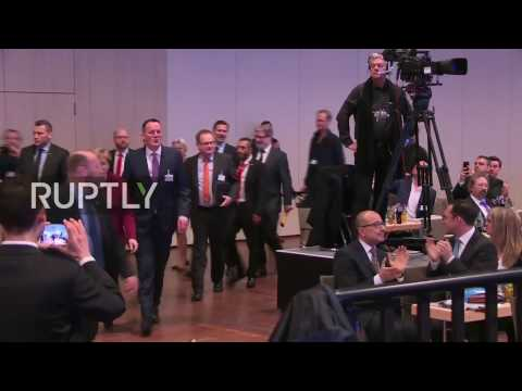 LIVE: Merkel gives speech at business congress in Berlin