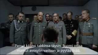 Hitler kuulee, että Suomi on ottamassa 40000 pakolaista
