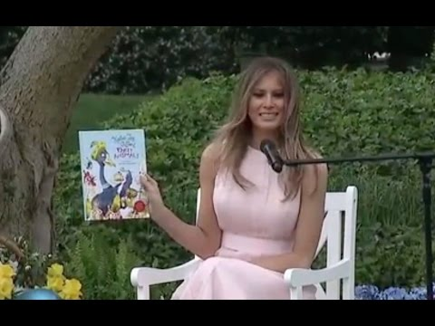 "Thumbnail: Melania Trump Reads ""Party Animals"" To Kids At Easter Egg Roll"