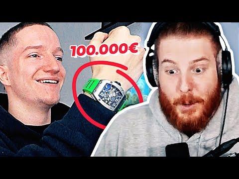 Justin kauft sich eine Uhr für 100.000€ | #ungeklickt