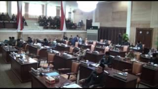 Pandangan Umum Fraksi-fraksi Dewan Terhadap 6 Raperda Kab. MUBA Tahun 2016