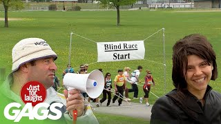 Blind Race, Rigged Machines and MORE! | Just for Laughs Compilation